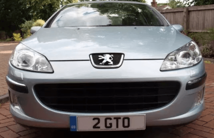 The number plate 2 GTO set for a record price?