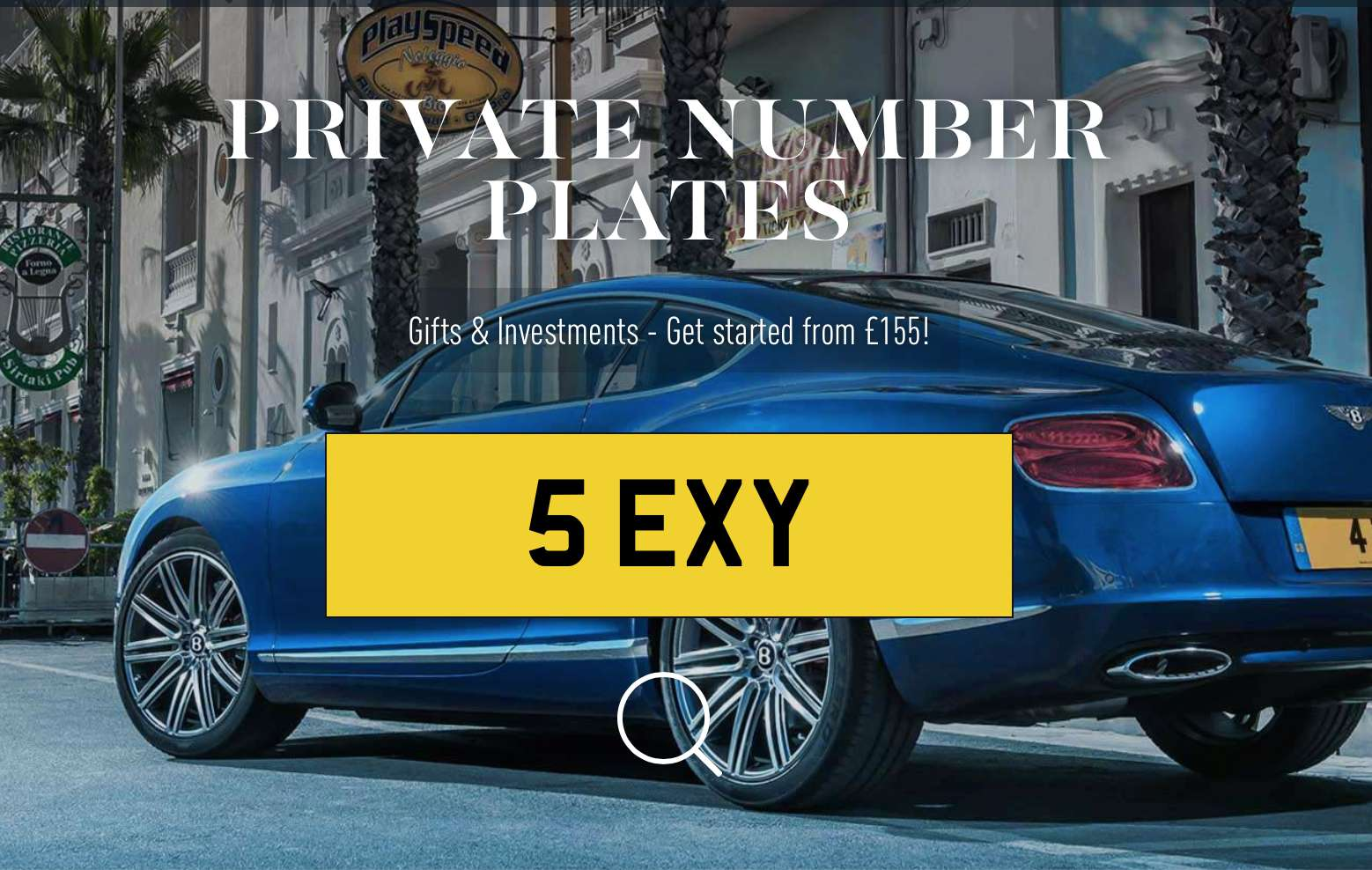 Private Number Plates - Sexy Numbers