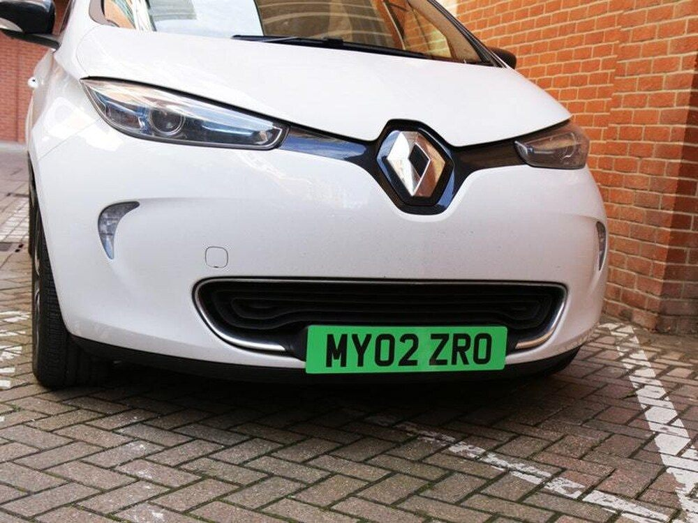 Green Number Plates for Ultra Low Emission Vehicles