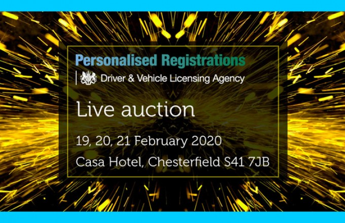 DVLA Auction Chesterfield 19-21st February 2020