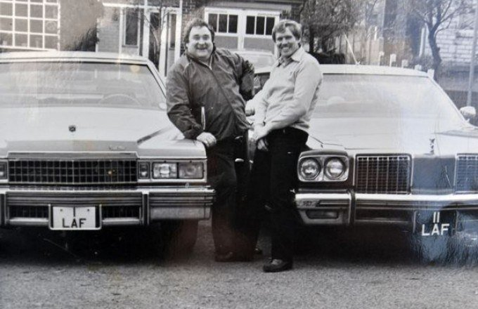 Bernard Manning's comedy plate for sale!